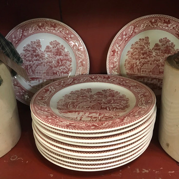 Memory Lane Dinner Plates - $5