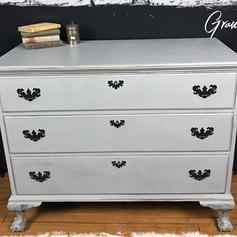 Antique Mahogany Dresser (SOLD)