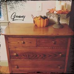 Antique Country Oak Dresser (SOLD)