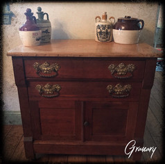 Country Antique Commode (SOLD)