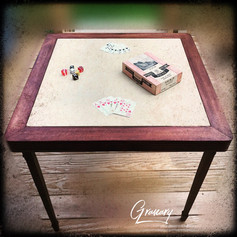 Antique Fold-A-Matic Card Table (SOLD)