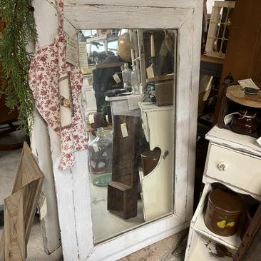 Reclaimed Barn Wood Mirror (SOLD)