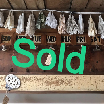 Antique General Store Sign (SOLD)