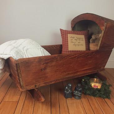 Primitive Cradle $75