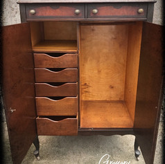 Antique Mahogany Armoire (SOLD)