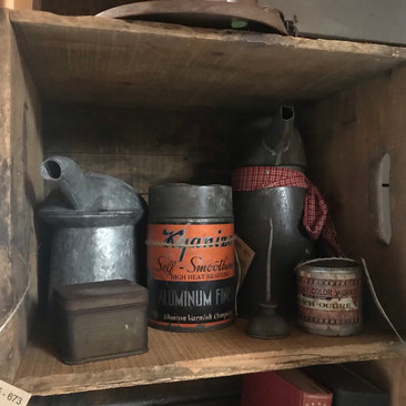 Assorted Advertising Tins  Antique Oil Cans $10 - $20