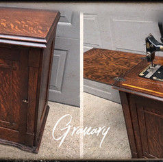 Antique Sewing Cabinet (SOLD)