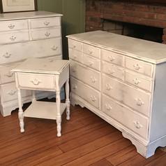 Vintage Maple Bedroom Set