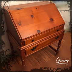 Flawless Pine Secretary Desk (SOLD)
