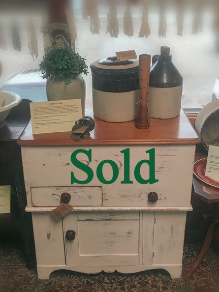 Antique Dry Sink (SOLD)