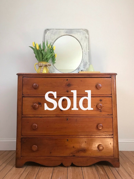 Early Pine Dresser (SOLD)
