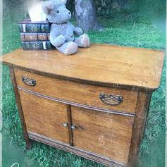 Antique Oak Commode (SOLD)
