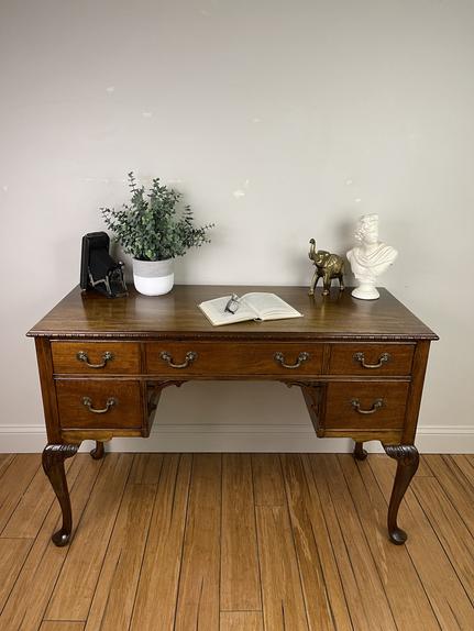 Antique Kindel Mahogany Desk - $175