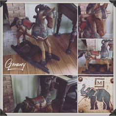 Antique Rocking Horse (SOLD)