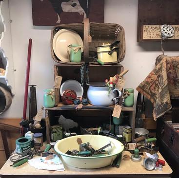 Vintage Kitchen Utensils & Vintage Enamel  - Various Prices