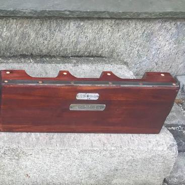 Mahogany Industrial Forms $45