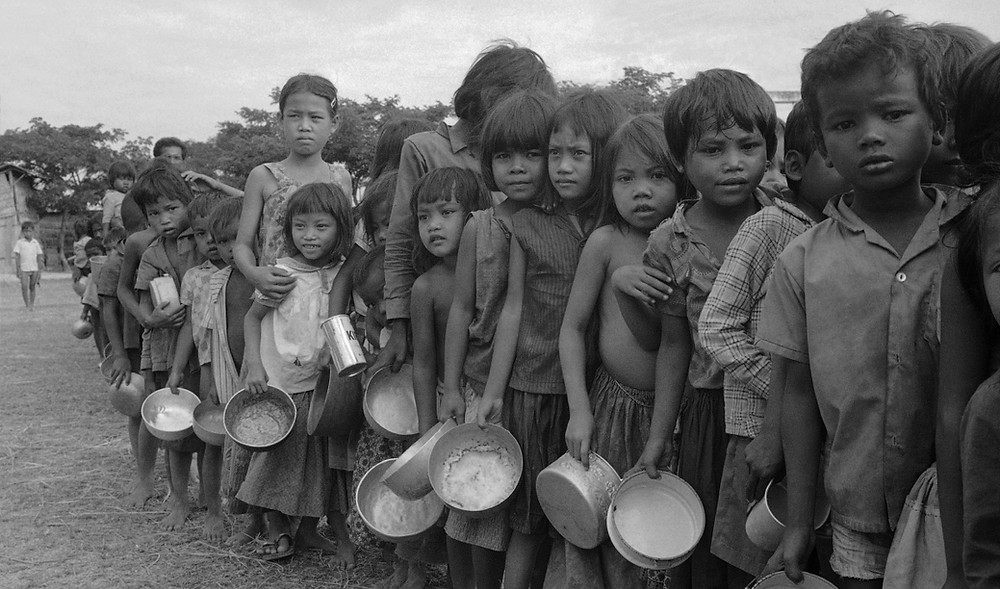 Cambodian genocide under Khmer Rouge 1970s