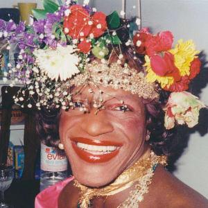 Black transgender rights activist Marsha P. Johnson
