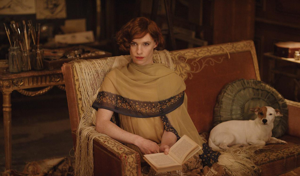 "Cisgender actor Eddie Redmayne portraying a trans woman in ""The Danish Girl"" ("