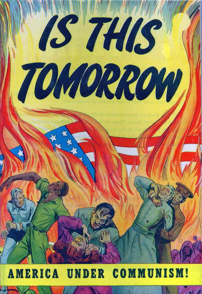 The Red Scare in America, fear of communism