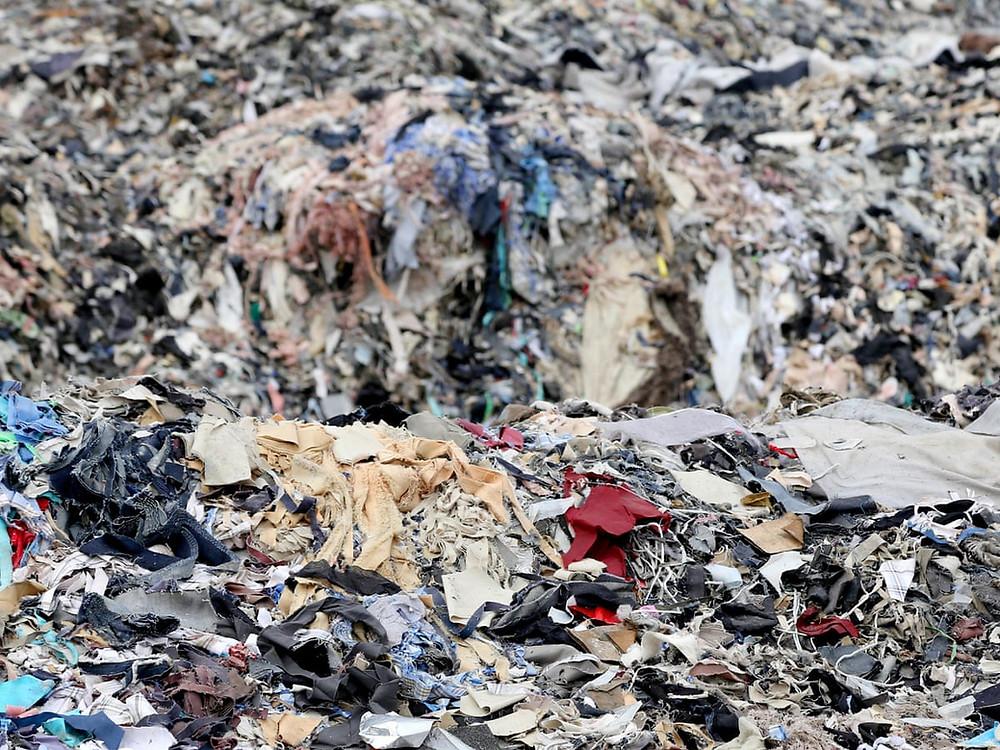 The environmental impact of fast fashion - landfill