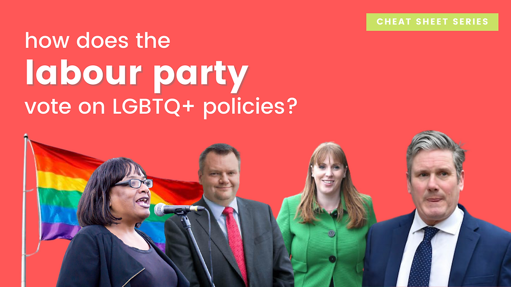 How does the Labour Party vote on LGBTQ+ policies and issues?