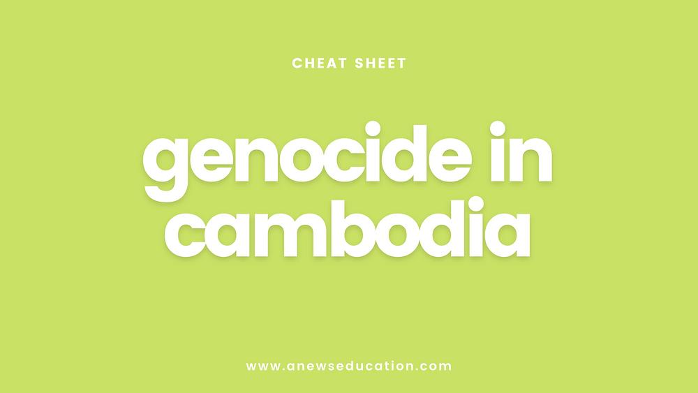 The Cambodia Genocide 1970s