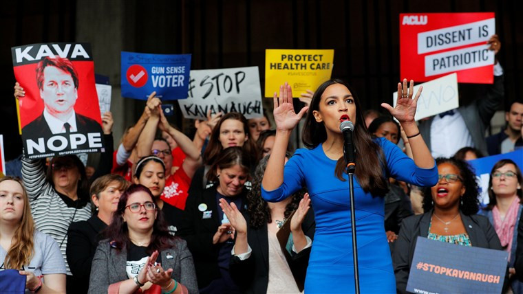 Democratic socialism in US politics, Alexandria Ocasio Cortez