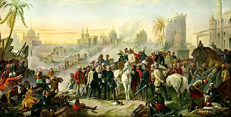 Indian Revolt of 1857 against British Rule