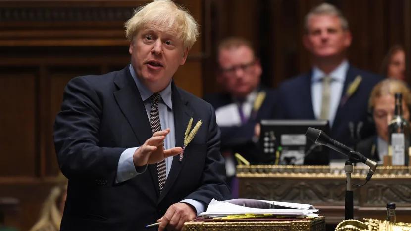 Boris Johnson announces Internal Market Bill in UK Parliament