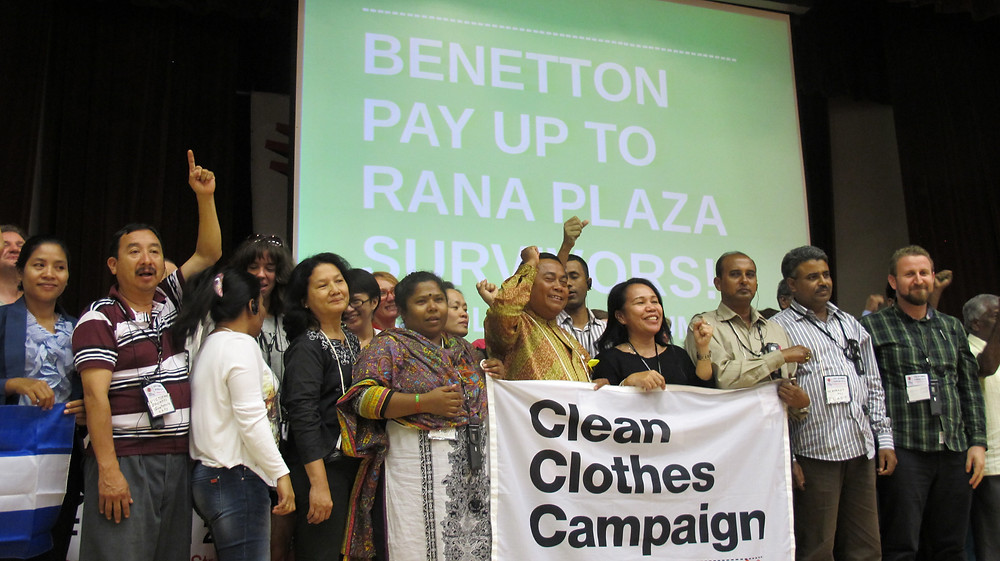 The Clean Clothes Campaign, fighting against fast fashion and exploitation of garment workers