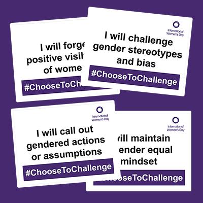 International Women's Day 2021 #ChooseToChange