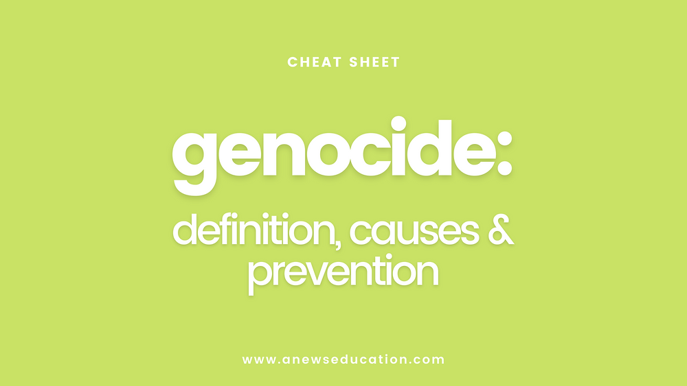 Genocide: definition, causes and prevention