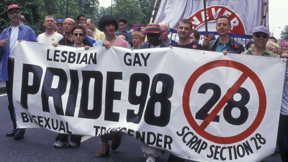 LGBTQ+ Education: The Legacy of Section 28