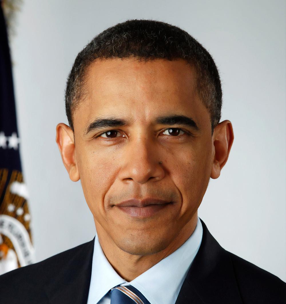 Democratic president Barack Obama