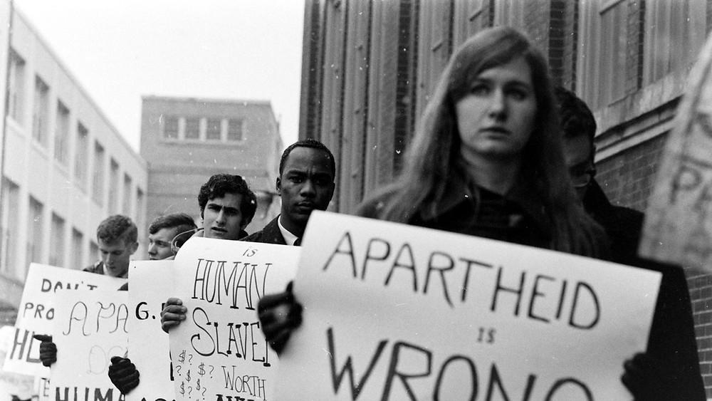 Trafalgar Square Anti-Apartheid Protest