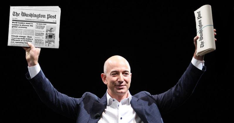 Billionaire Jeff Bezos owner of The Washington Post