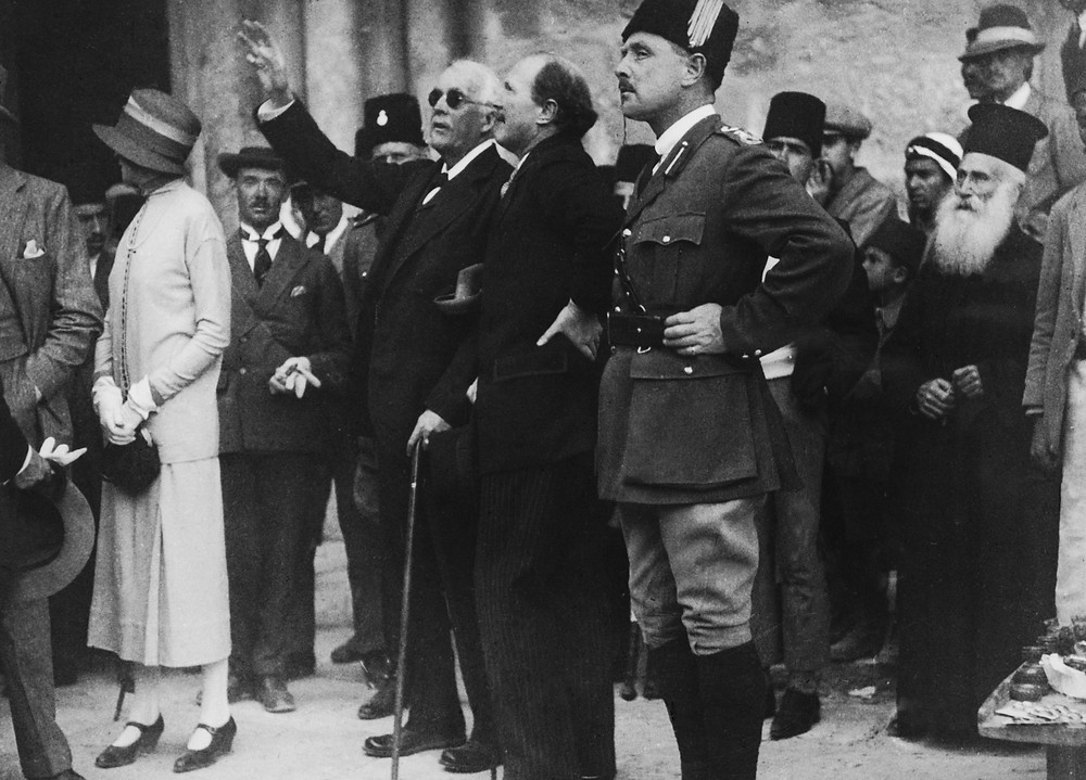 The Balfour Declaration, in the history of the Israel Palestine Conflict