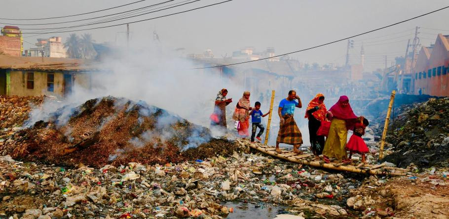 Climate crisis and overpopulation, entering the anthropocene
