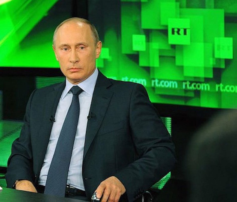 Is Russia Today controlled by the government?