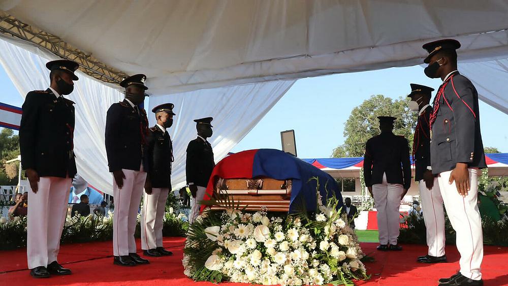 Haiti Holds Funeral for Assassinated President Jovenel Moïse