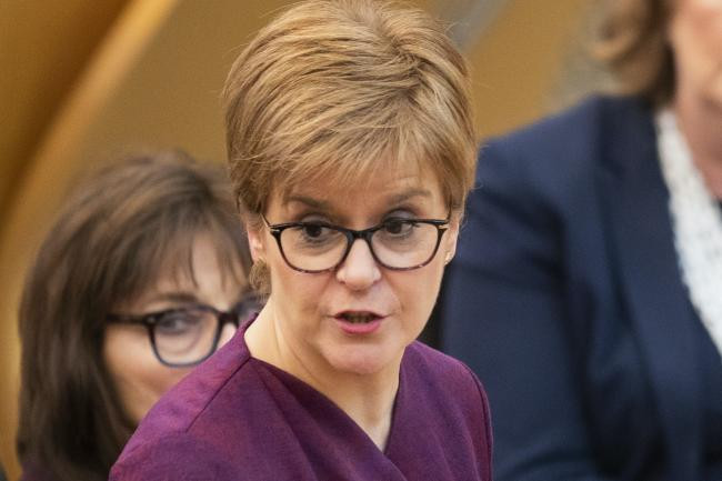 Nicola Sturgeon criticises the Internal Market Bill