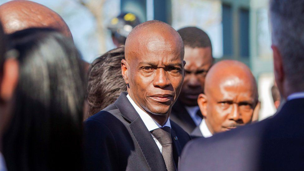 Haiti's President Jovenel Moïse Assassinated