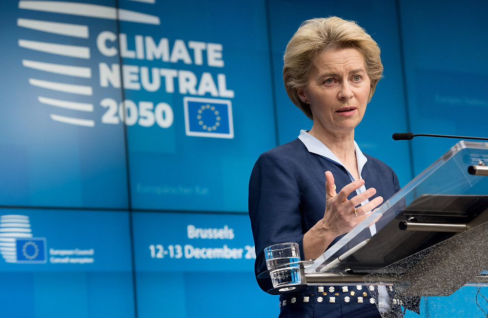 Climate neutral 2050 by the European Commission