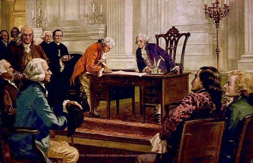 The Articles of Confederation, beginning of federalism in the United States