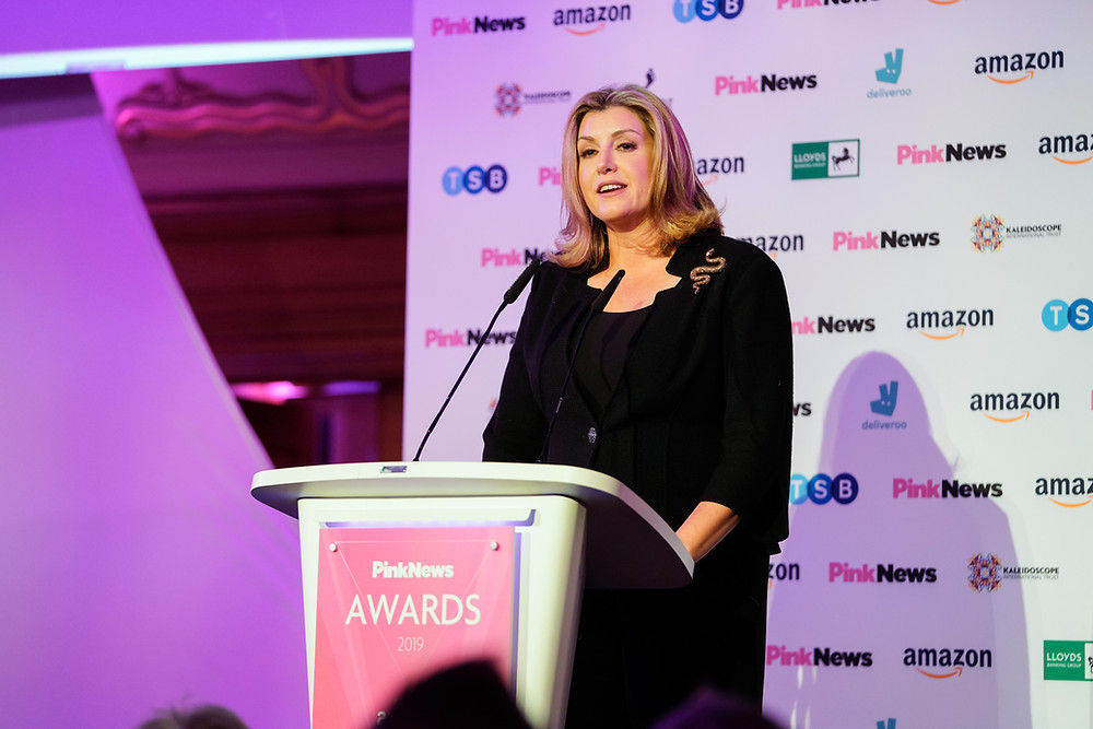 Penny Mordaunt and the disbanded LGBT Advisory Panel