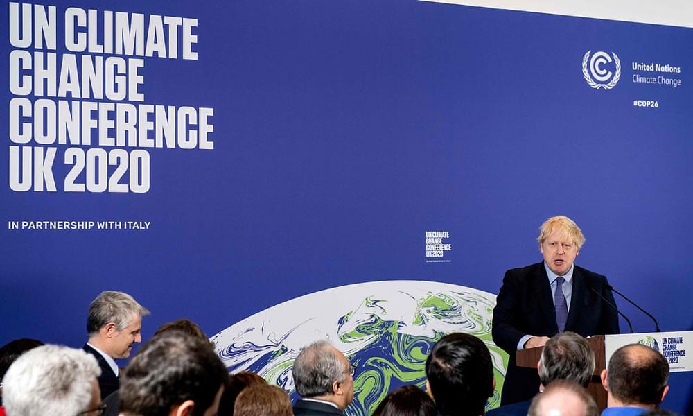 UN Cop26 climate change conference