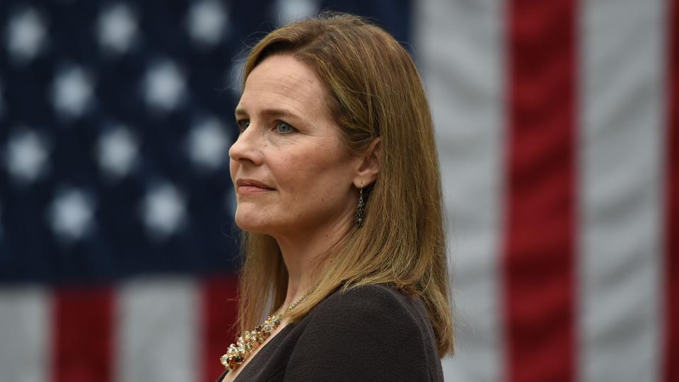 Conservative Amy Barrett is appointed as a Supreme Court Justice