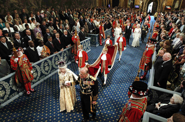 The Queen's role in the UK Parliament