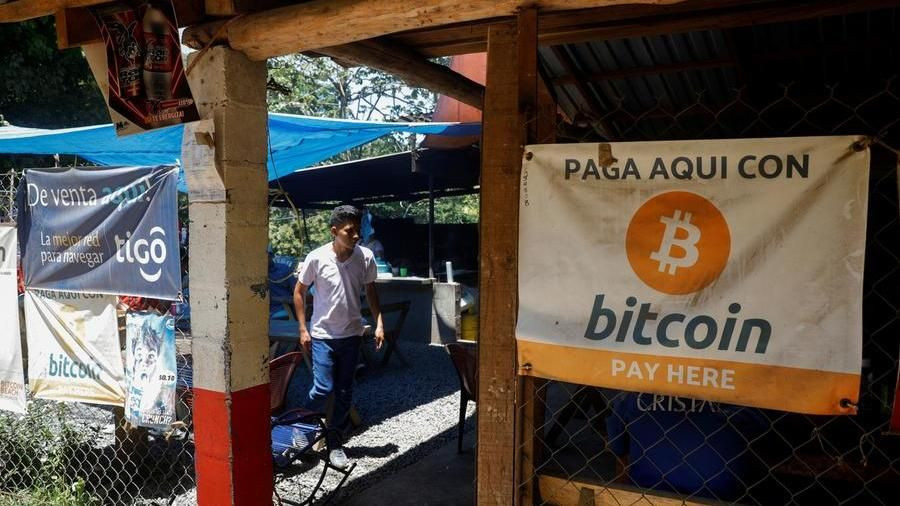 El Salvador becomes first country in the world to adopt bitcoin as legal currency